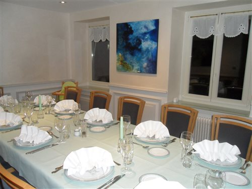 Restaurant gastronomique parcey dole jura le cadre for Le petit salon villereal